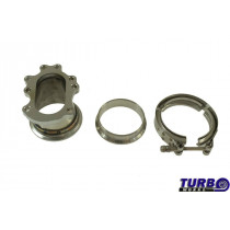 Downpipe T25 T28 GT25 GT28 to 3 V-Band